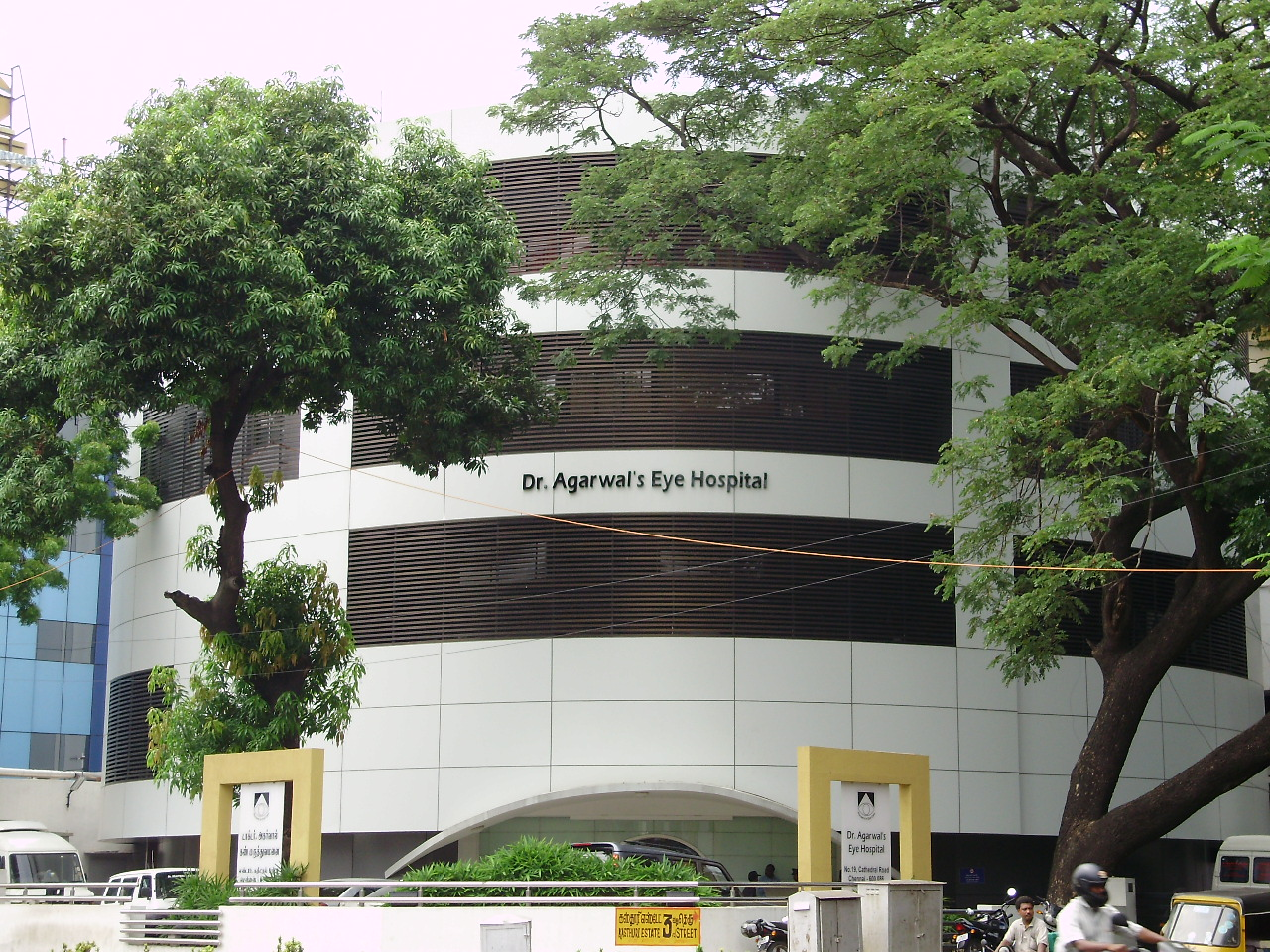 Dr. Agarwal's Eye Hospital is a chain of eye specialty hospitals in India headquartered at Chennai. Photo courtesy: Wikipedia
