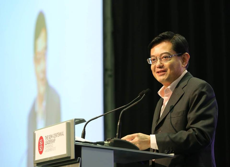Finance Minister of Singapore Heng Swee Keat. Photo courtesy: Facebook page of Heng Swee Keat