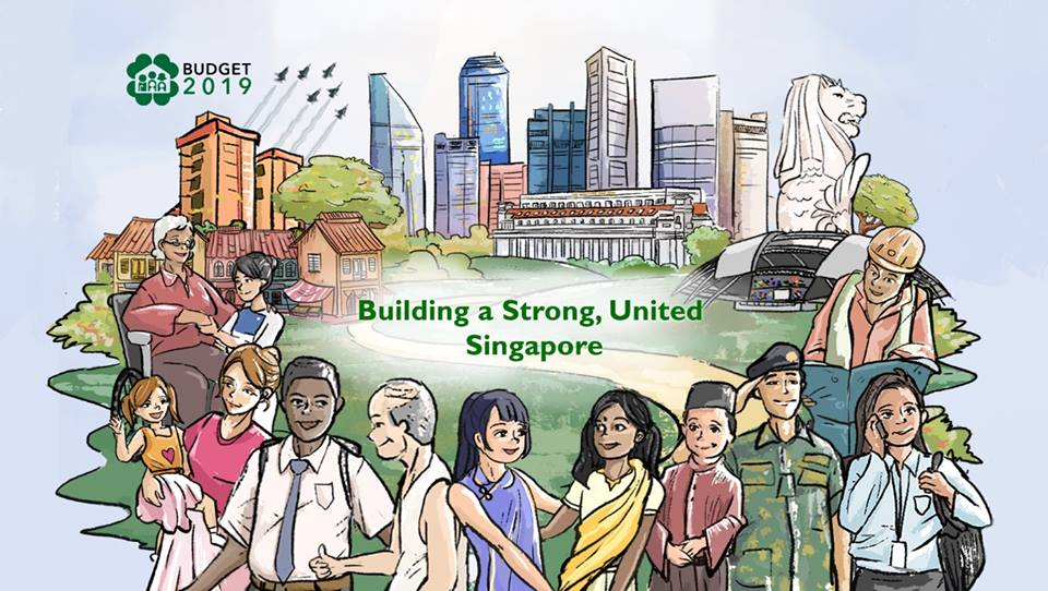 Singapore budget has pledged to build a strong and united Singapore. Photo courtesy: Facebook page of Ministry of Finance