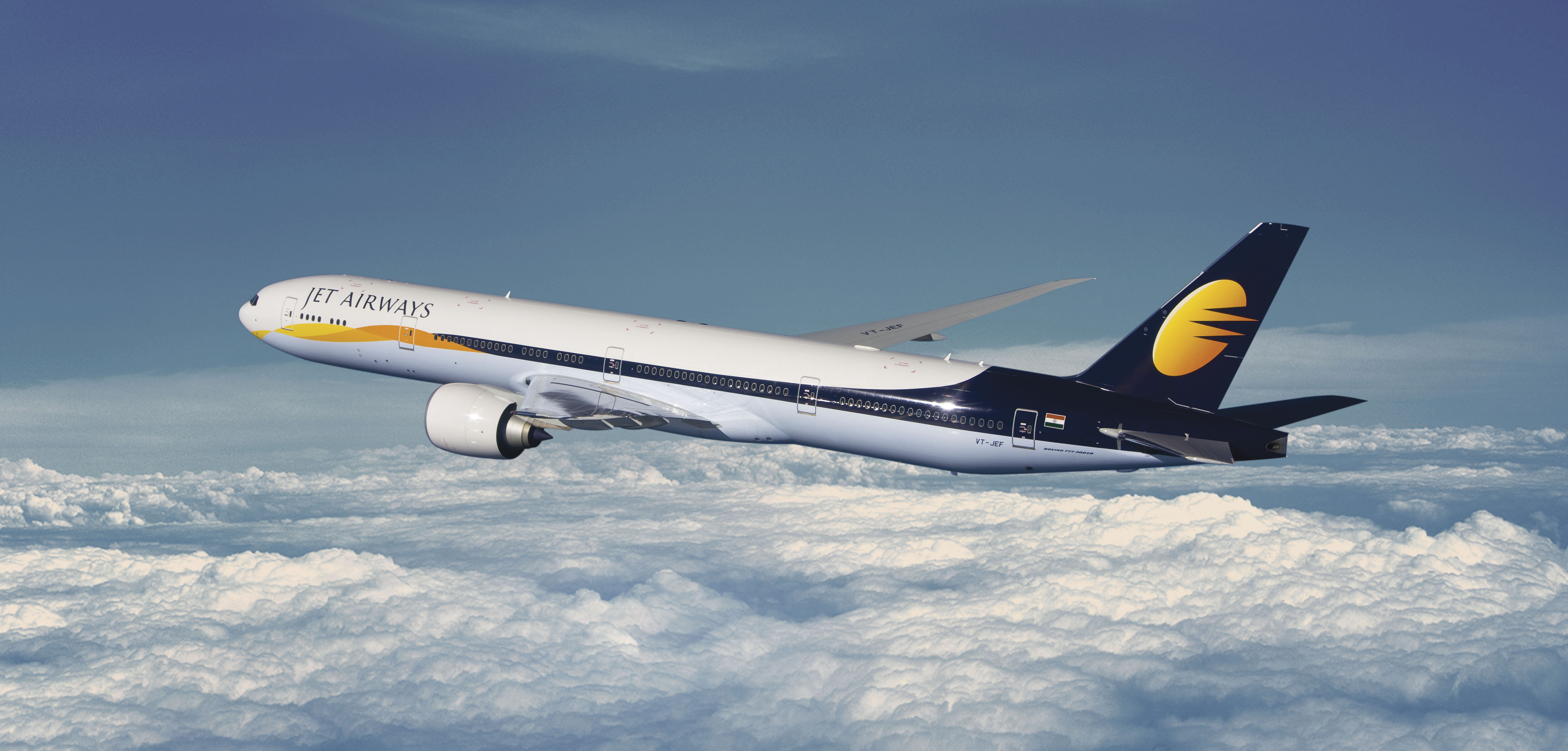 Jet Airways' Board has approved a Bank-Led Provisional Resolution Plan (BLPRP) which proposes restructuring under the provisions of the RBI Circular. Photo courtesy: Jet Airways