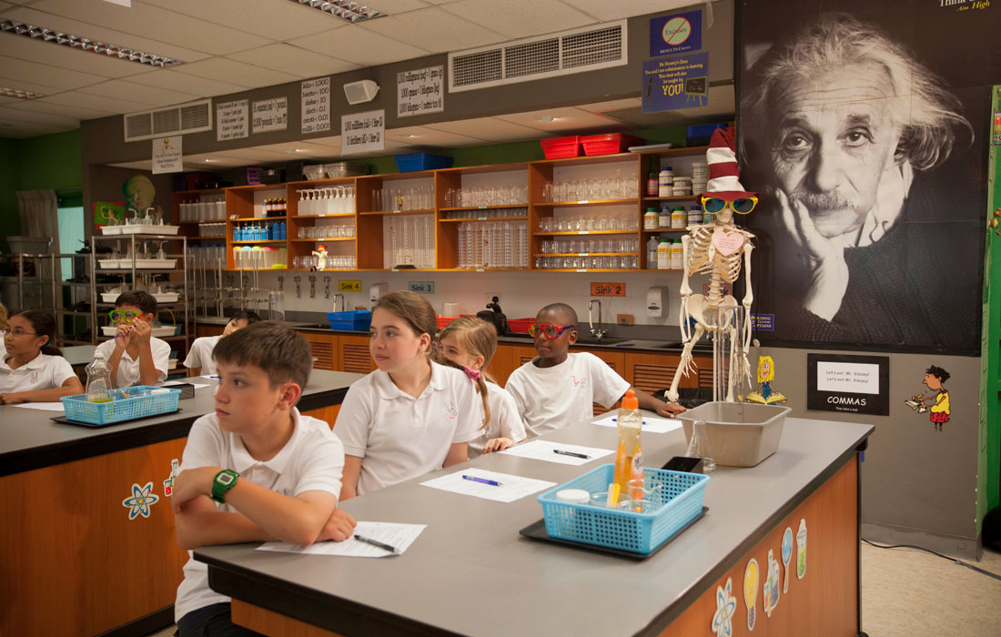 The students are nurtured with a passion towards scientific temperament. Photo courtesy: SAS