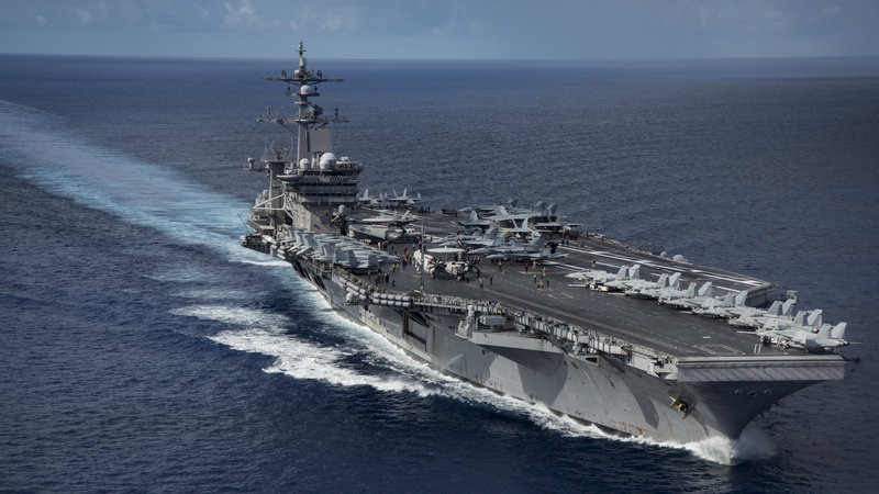 The US 7th Fleet command has been renamed the Indo-Pacific Command. Photo courtesy: NPR