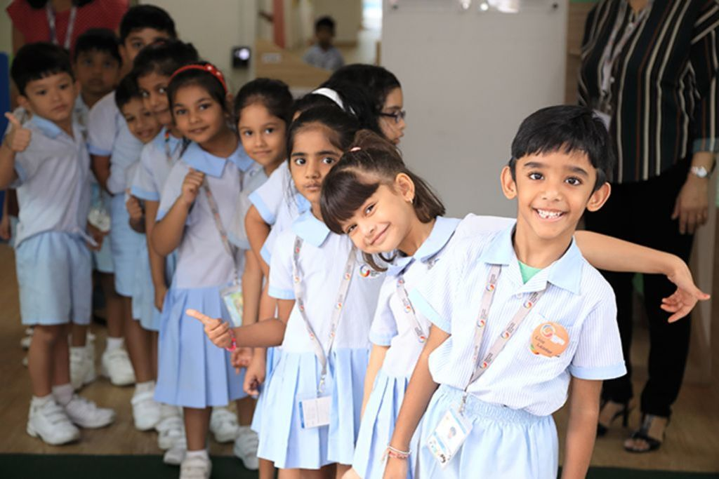 GIIS offers a comprehensive range of curricula options for students in kindergarten through Class 12. Photo courtesy: GIIS