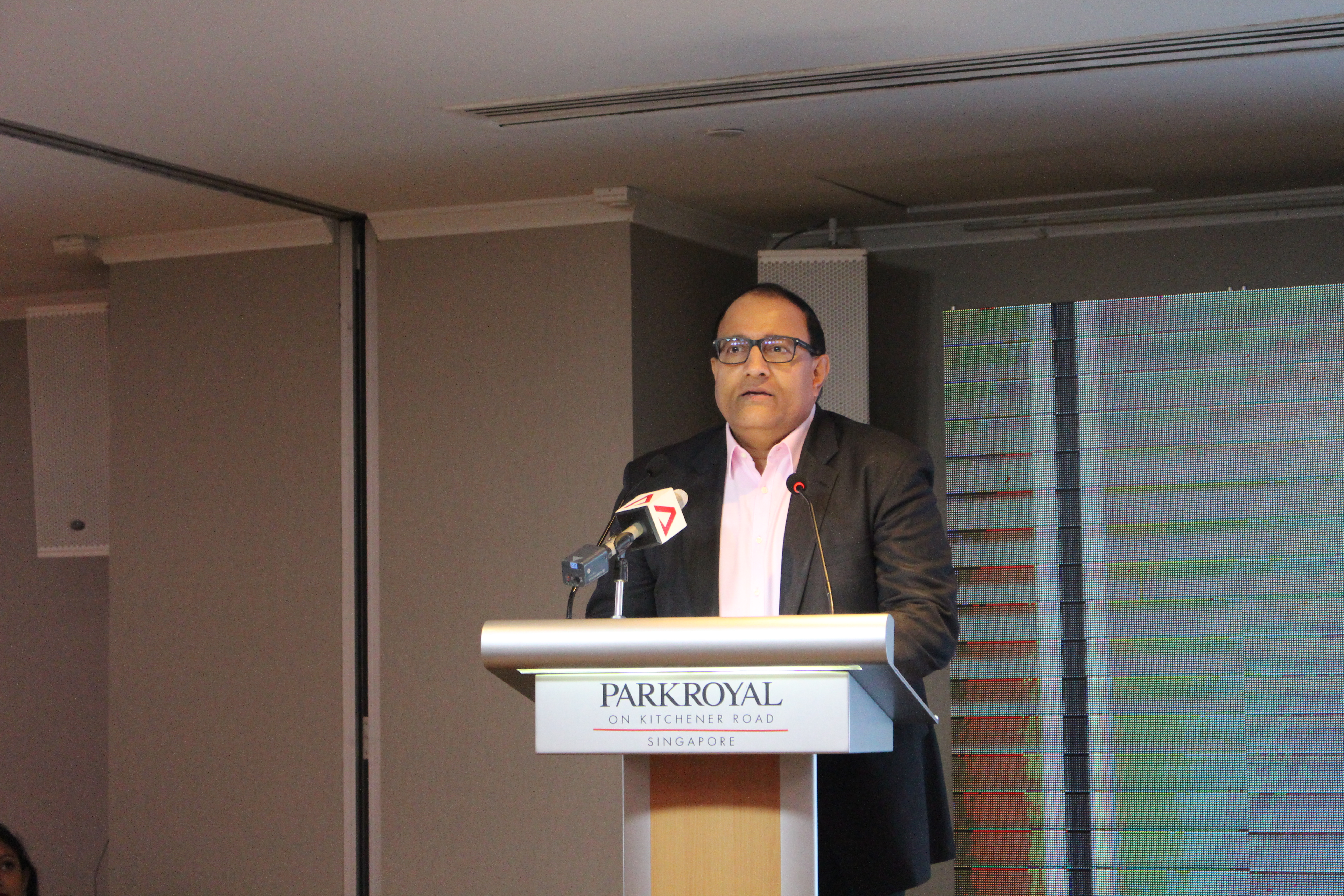 S Iswaran, Singapore's Minister for Communications and Information. Photo: Connected to India