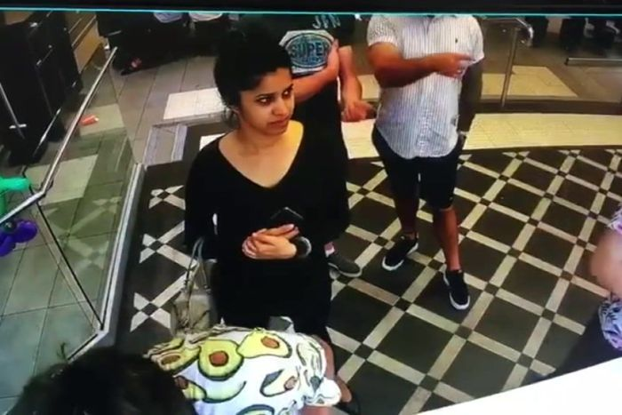 CCTV footage of Preethi Reddy at a McDonald's in Sydney early Sunday morning. Photo courtesy: australian.com.au
