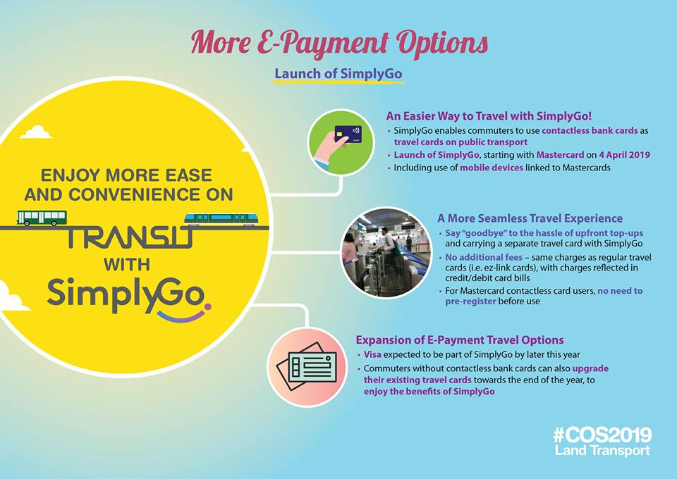 Commuters will have a more seamless travel experience with SimplyGo. Photo courtesy: Facebook page of LTA