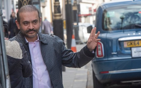 Nirav Modi spotted in London. Photo courtesy: telegraph.co.uk