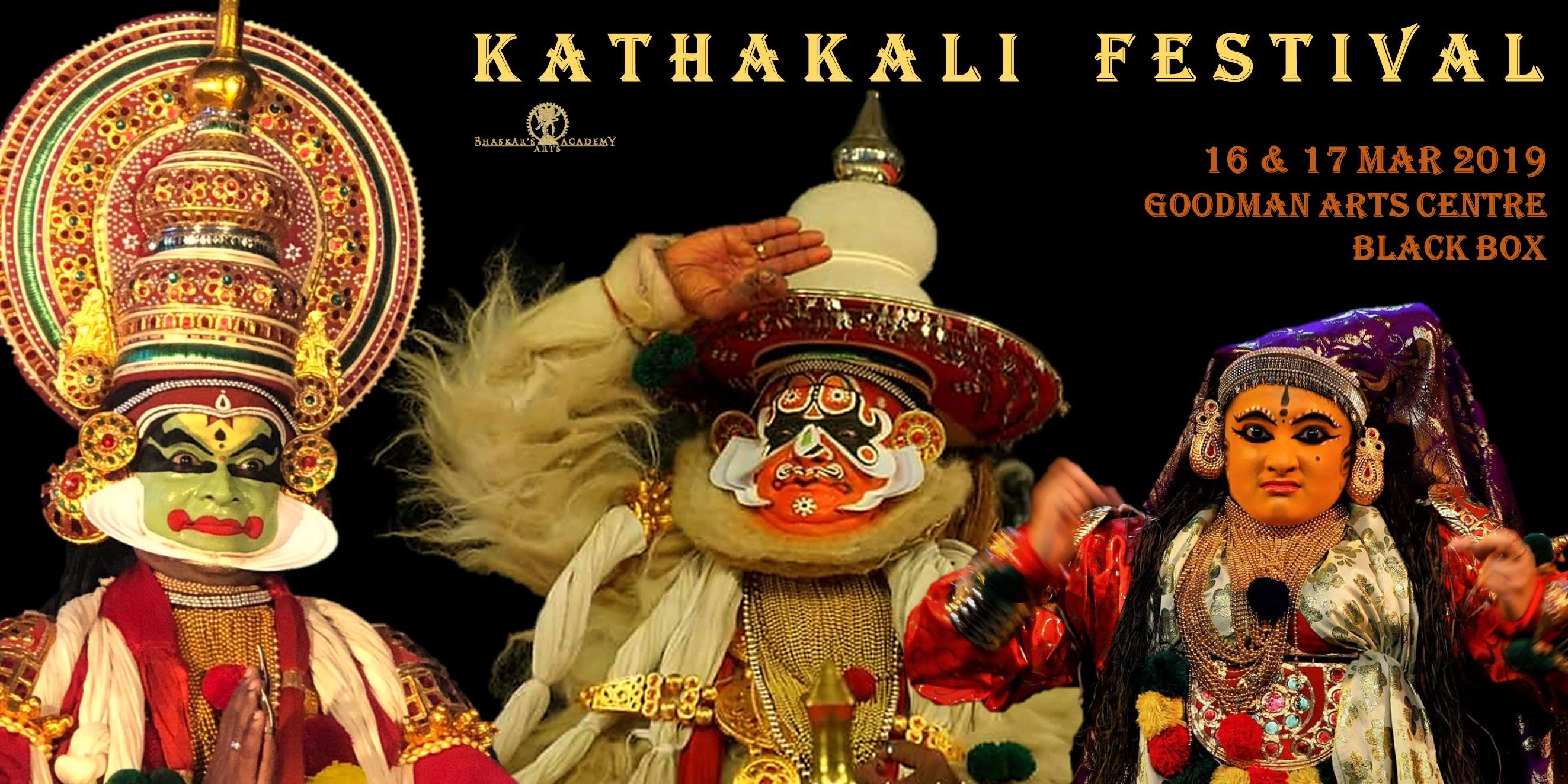 Kathakali Festival. Photo courtesy: Bhaskar's Arts Academy