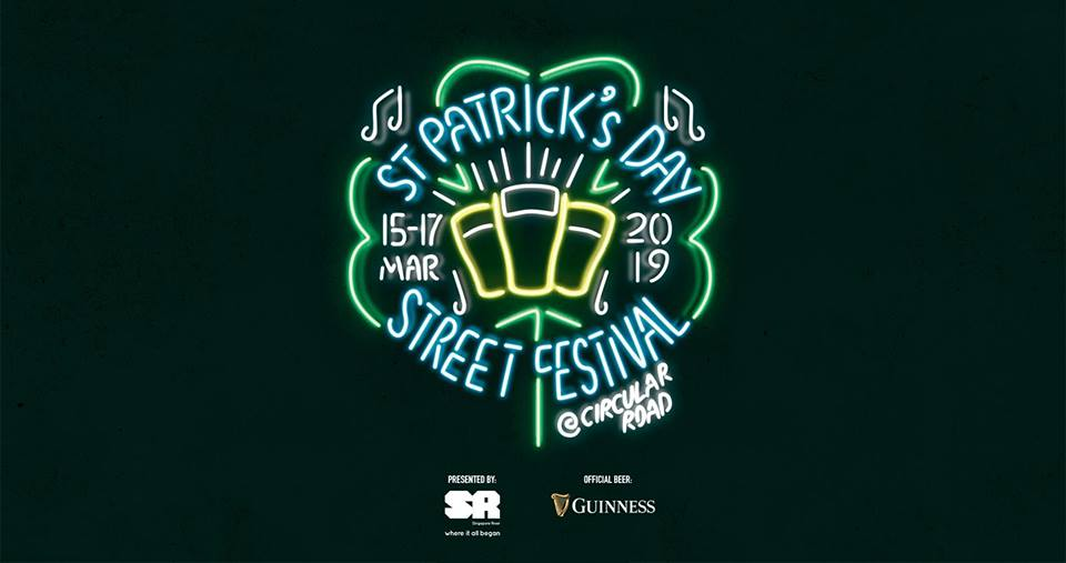 Photo courtesy: St Patrick's Day Street Festival Singapore