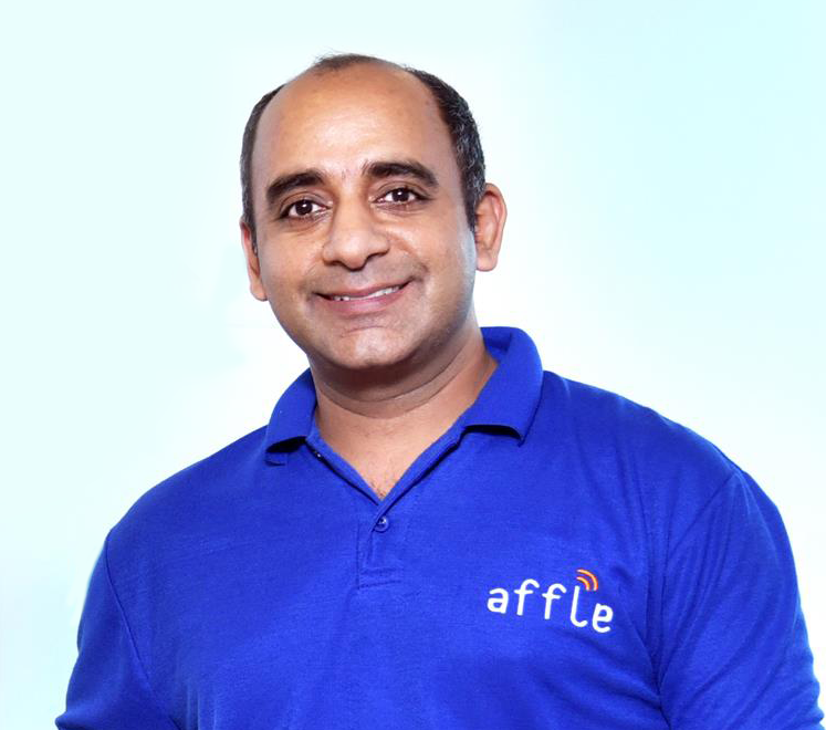 Anuj Khanna Sohum, Chairman, MD and CEO of Affle. Photo courtesy: Anuj Khanna Sohum