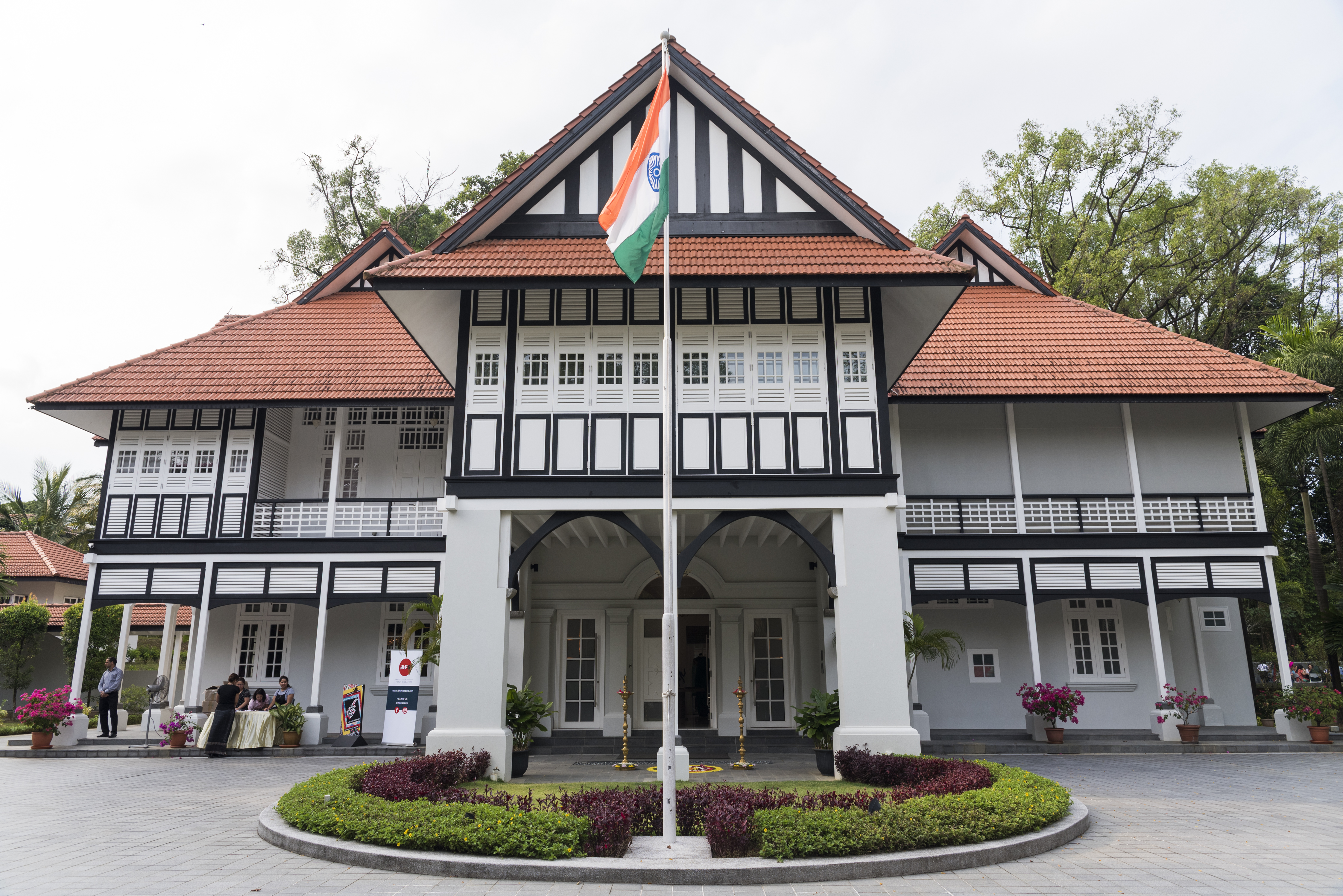 The majestic India House is one of the beautiful buildings of Singapore which houses the office of Indian High Commission. Photo courtesy: IDF, Singapore