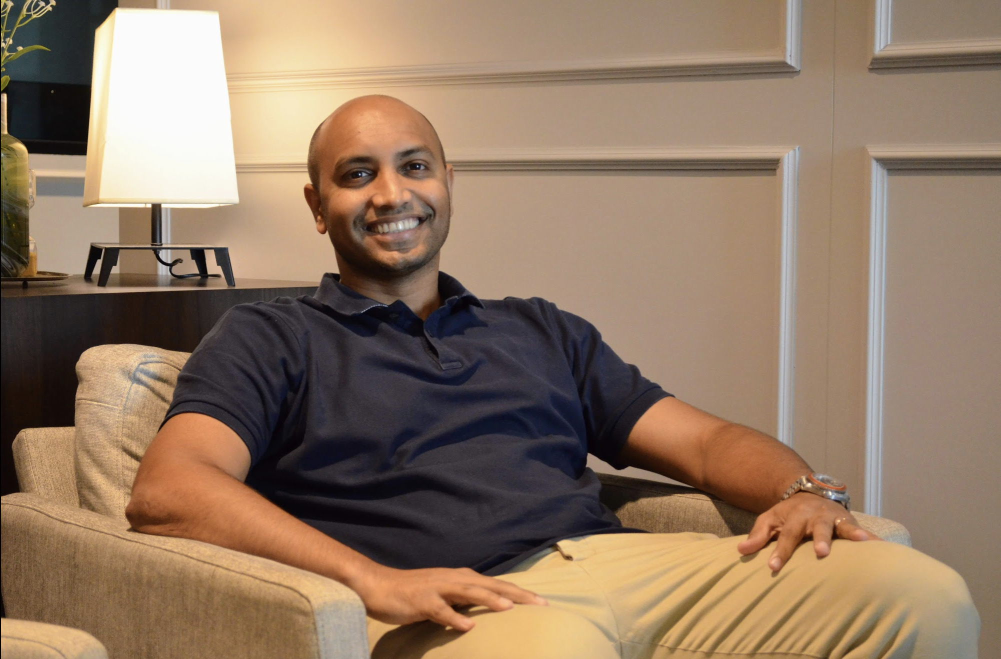 Prajit Nanu, Co-founder and CEO of InstaReM. Photo: Connected to India