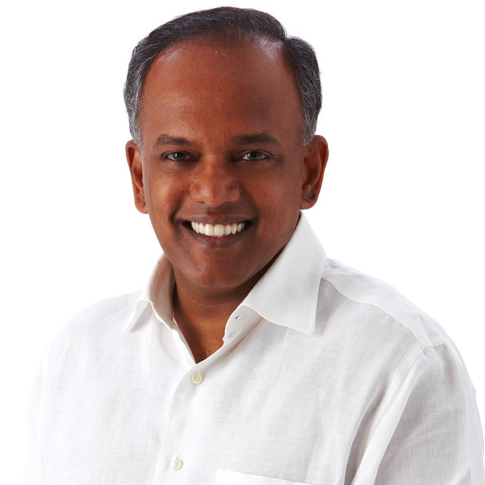 K Shanmugam, Law and Home Affairs Minister of Singapore. Photo courtesy: Facebook page of K Shanmugam