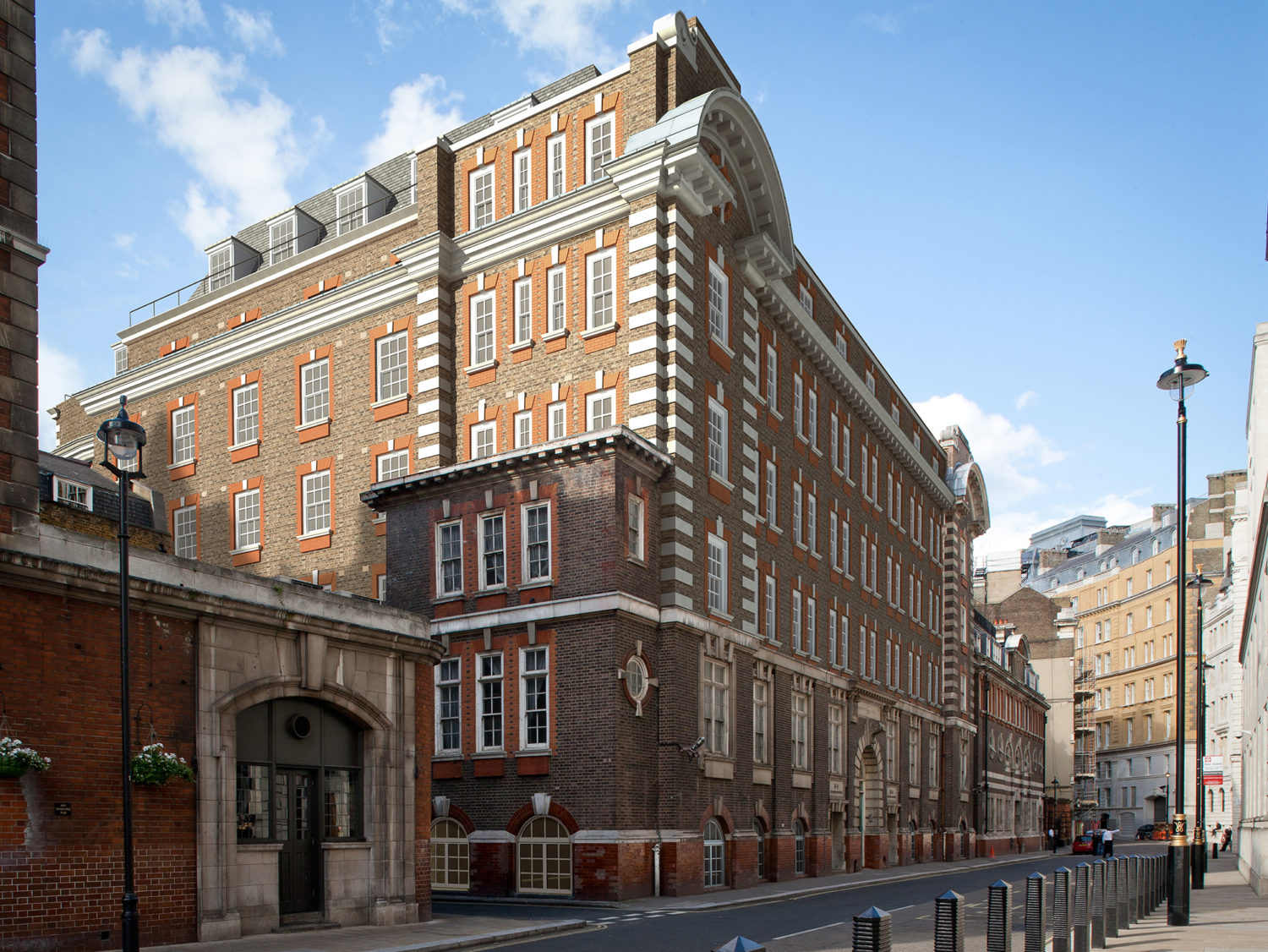 Transformed at a reported cost of 75 million pounds, the hotel located close to Trafalgar Square has over 150 rooms, some converted from what were previously cells where criminals were incarcerated.
