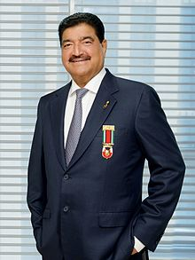 BR Shetty, founder and chairman of NMC Healthcare. Photo courtesy: Wikipedia