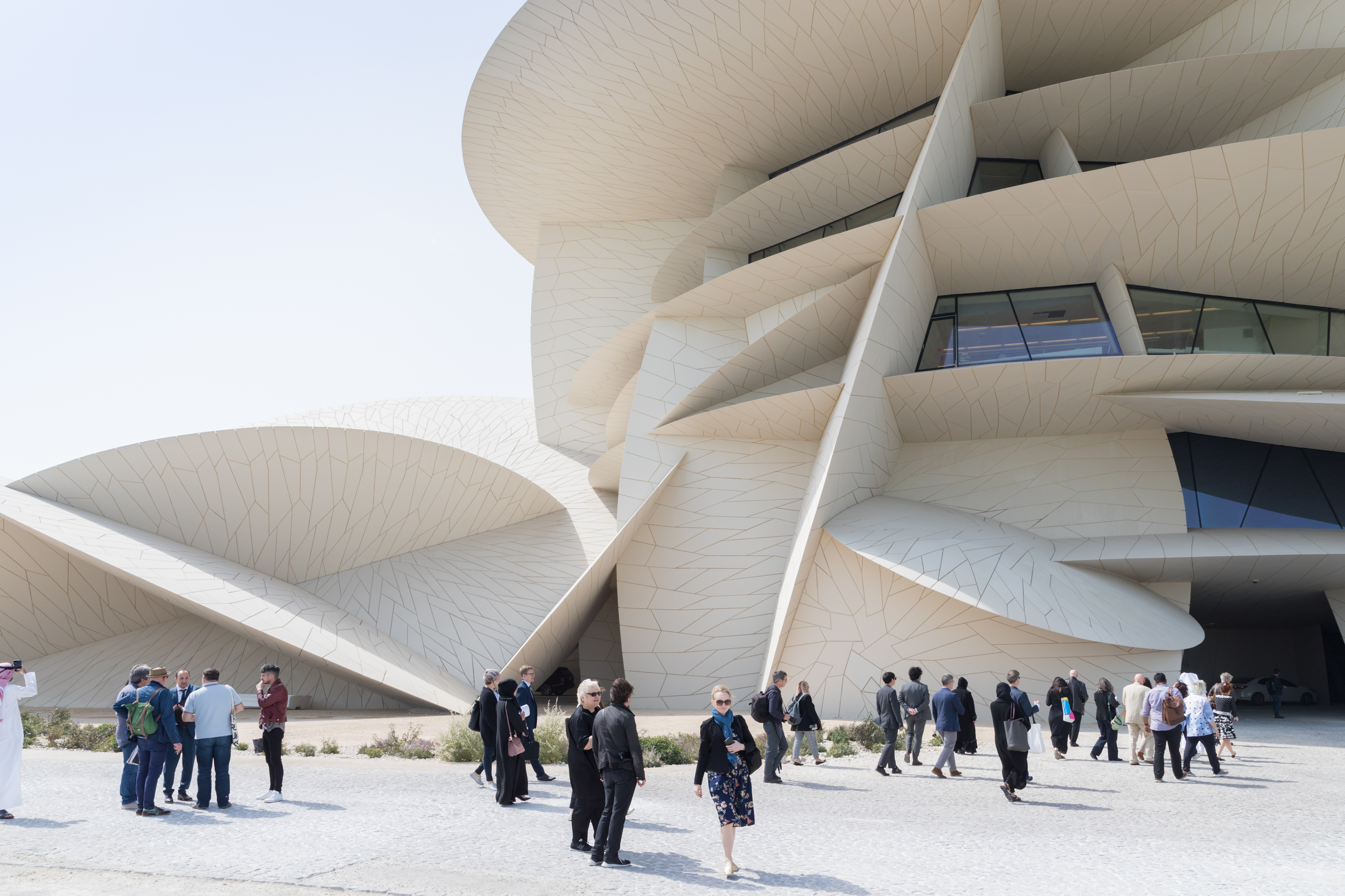 D Exhibition Designer Jobs In Qatar : National museum of qatar opens in doha connected to india
