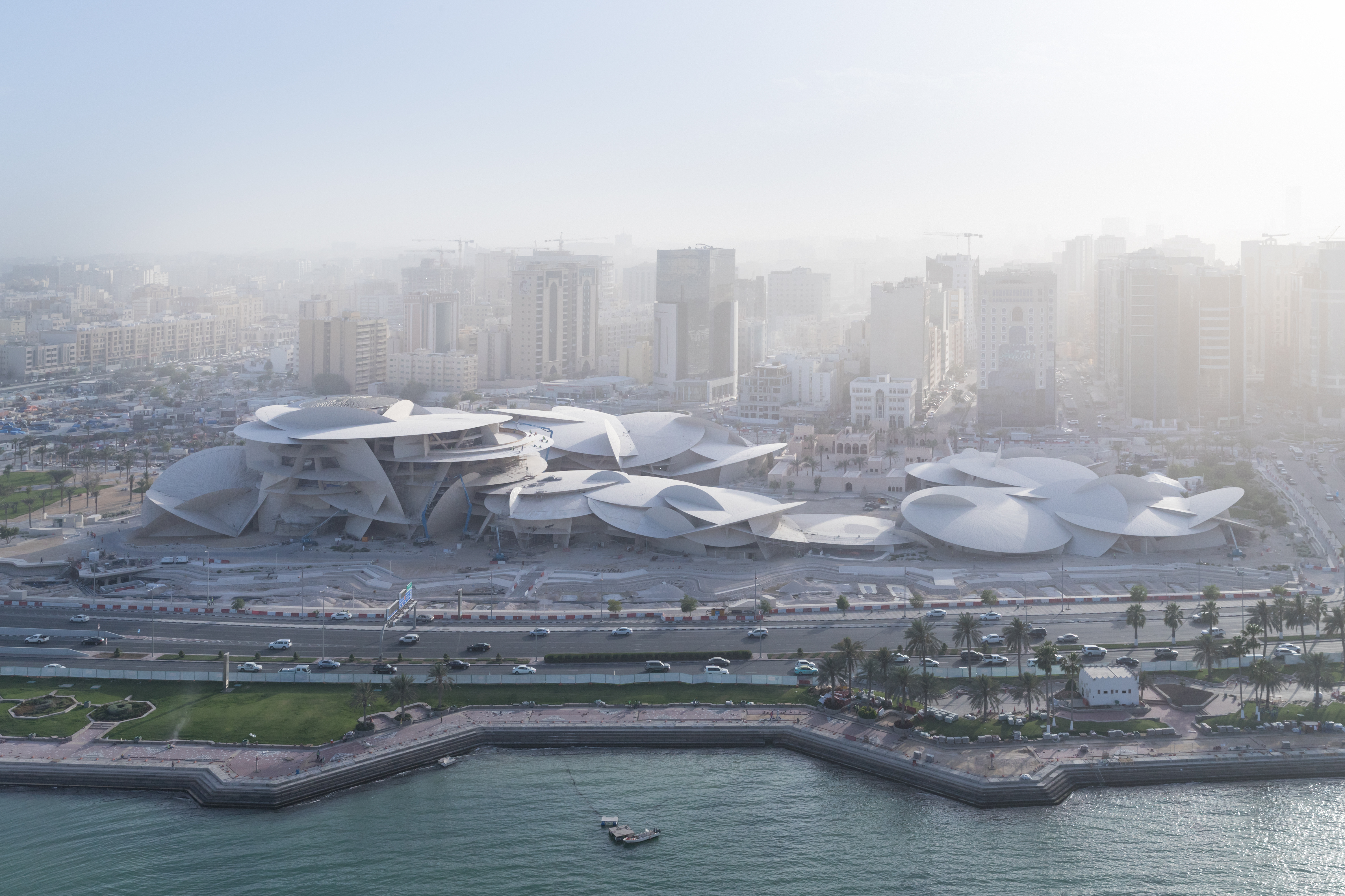 National Museum of Qatar has been designed by Pritzker Prize-winning architect Jean Nouvel. He drew inspiration from 'Desert Rose' while designing the architecture of the building. Photo courtesy: National Museum of Qatar