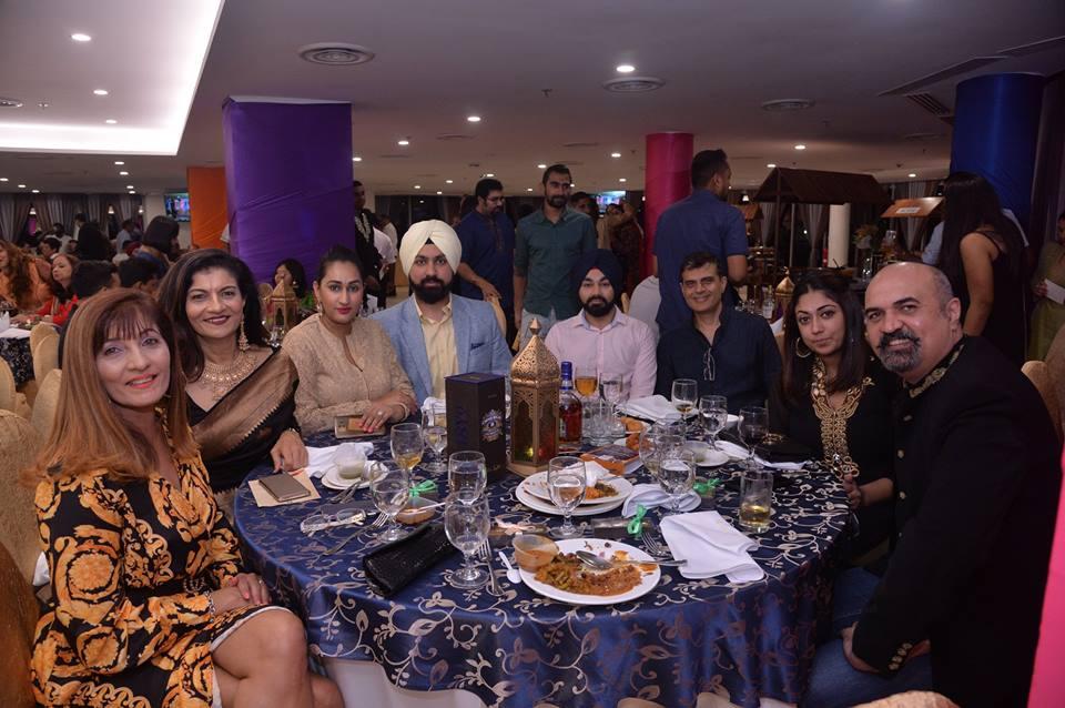 Members of SKA enjoying dinner on the occasion of Diwali. Photo courtesy: SKA