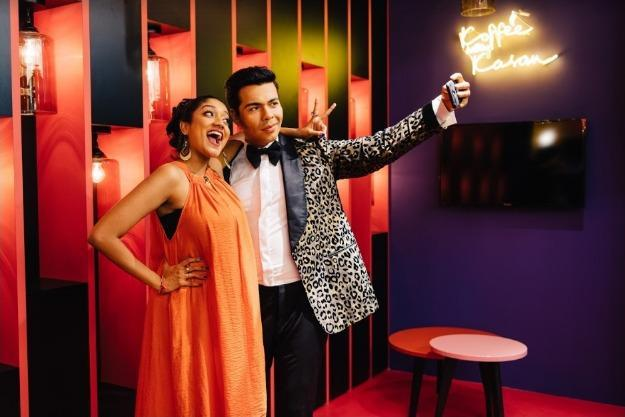 To end the exciting rise to fame, fans can sit with Karan Johar, where so many other celebrities have sat before, for an interview on his interactive set and take a selfie from his phone. Photo courtesy: Madame Tussauds