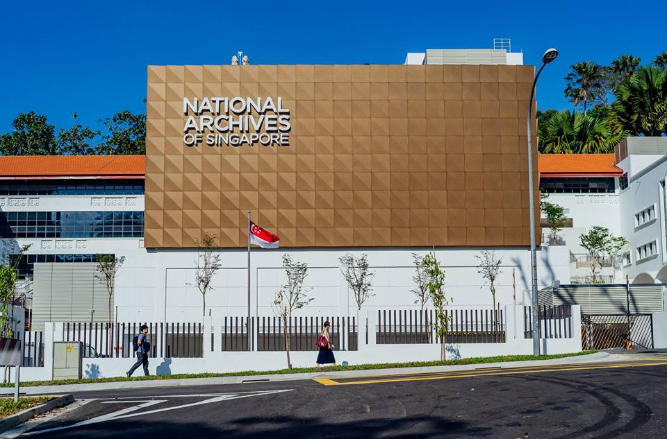 The revamped building of National Archives of Singapore (NAS) has been opened for the public. Photo courtesy: Facebook page of NAS