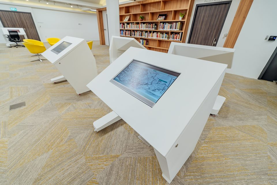 The new Archives Reading Room features interactive kiosks at NAS. Photo courtesy: Facebook page of NAS