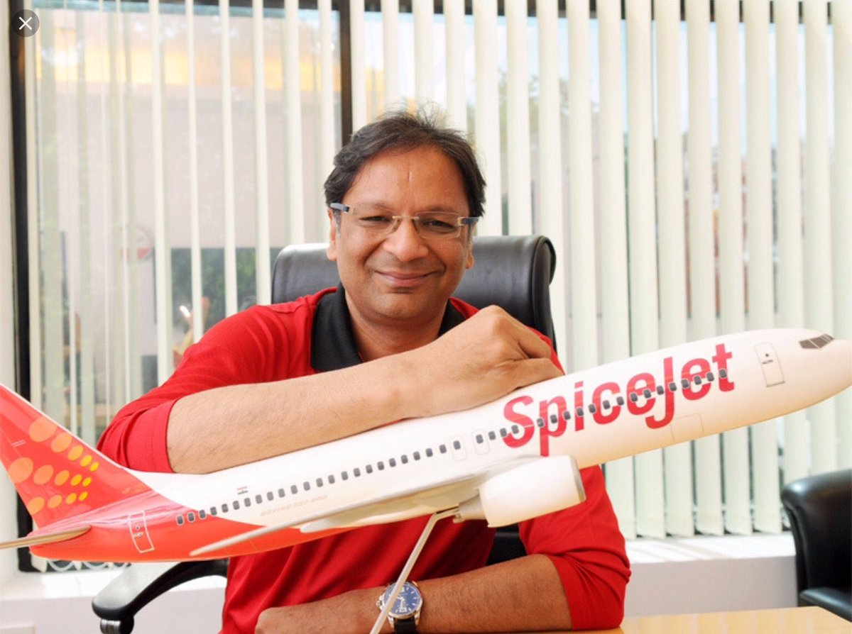Ajay Singh, Chairman and Managing Director, SpiceJet