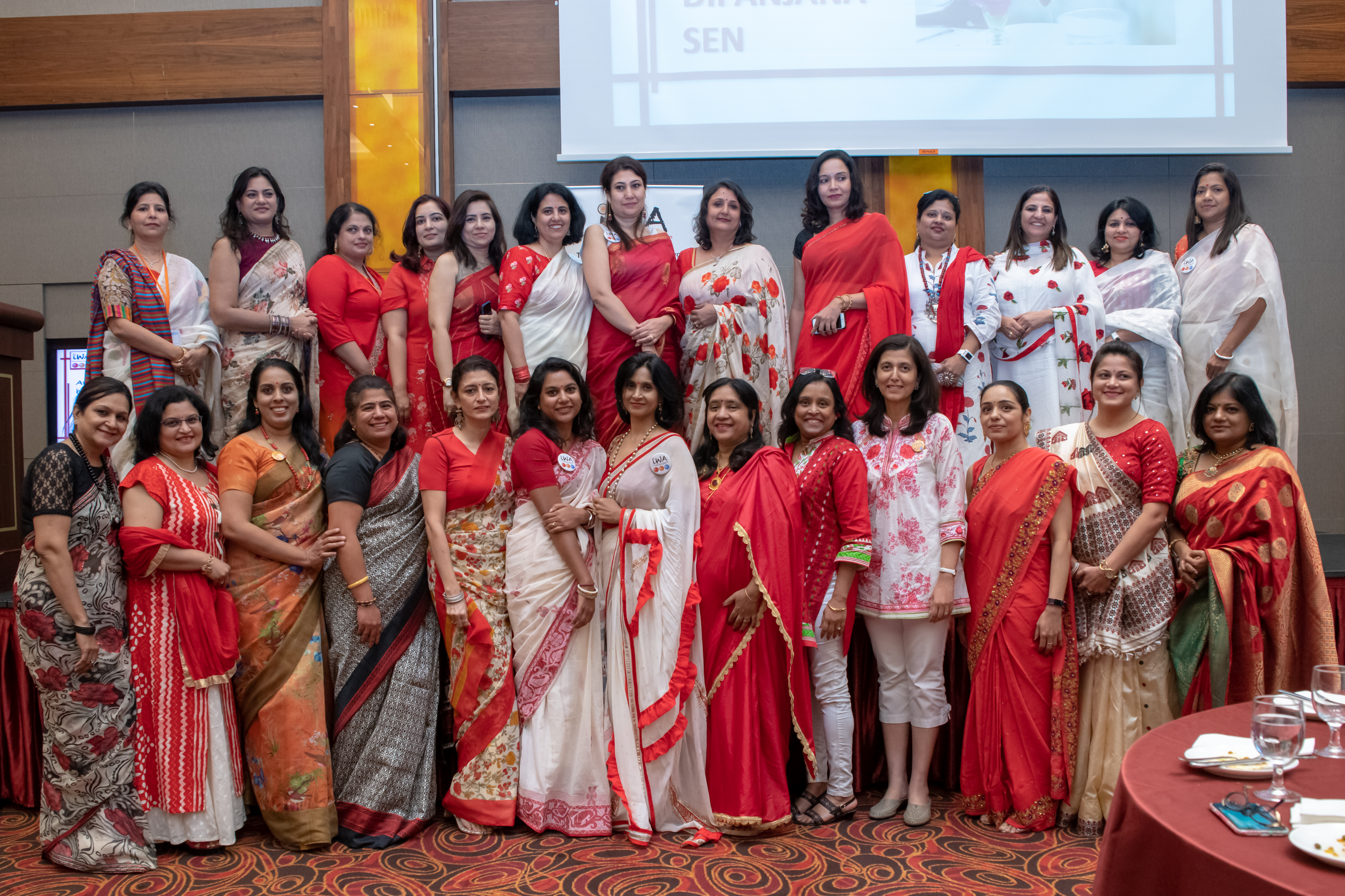 Indian Women's Association committee. Photo courtesy: IWA