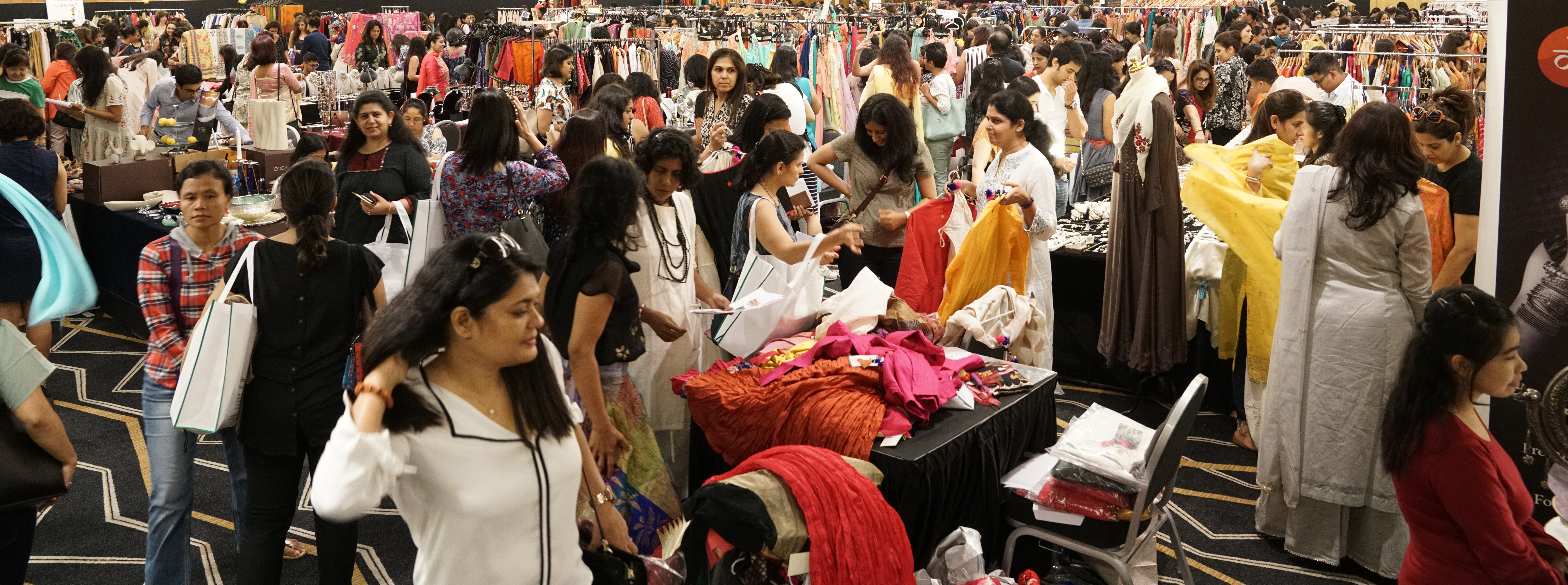 Indian Women's Association Festive Bazaar 2017. Photo courtesy: IWA