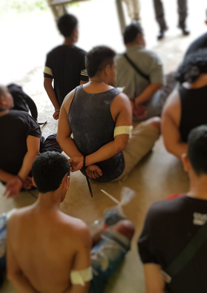 Singapore Police have arrested 69 men for various offences in a joint operation from April 22 to 26. Photo courtesy: Singapore Police