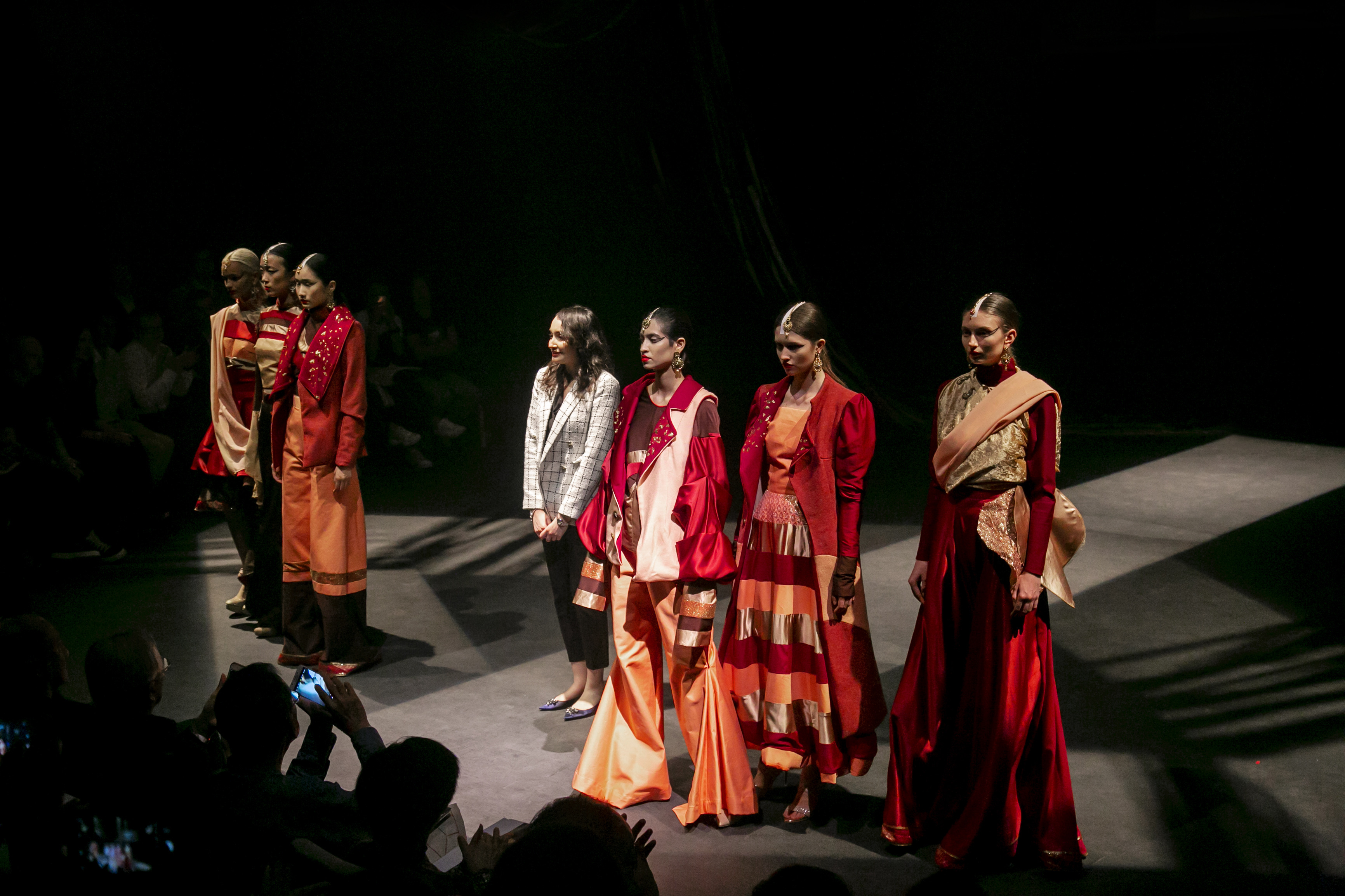 Meghna Sharma's collection was inspired by her trip to her hometown, India. Photo courtesy: MDIS