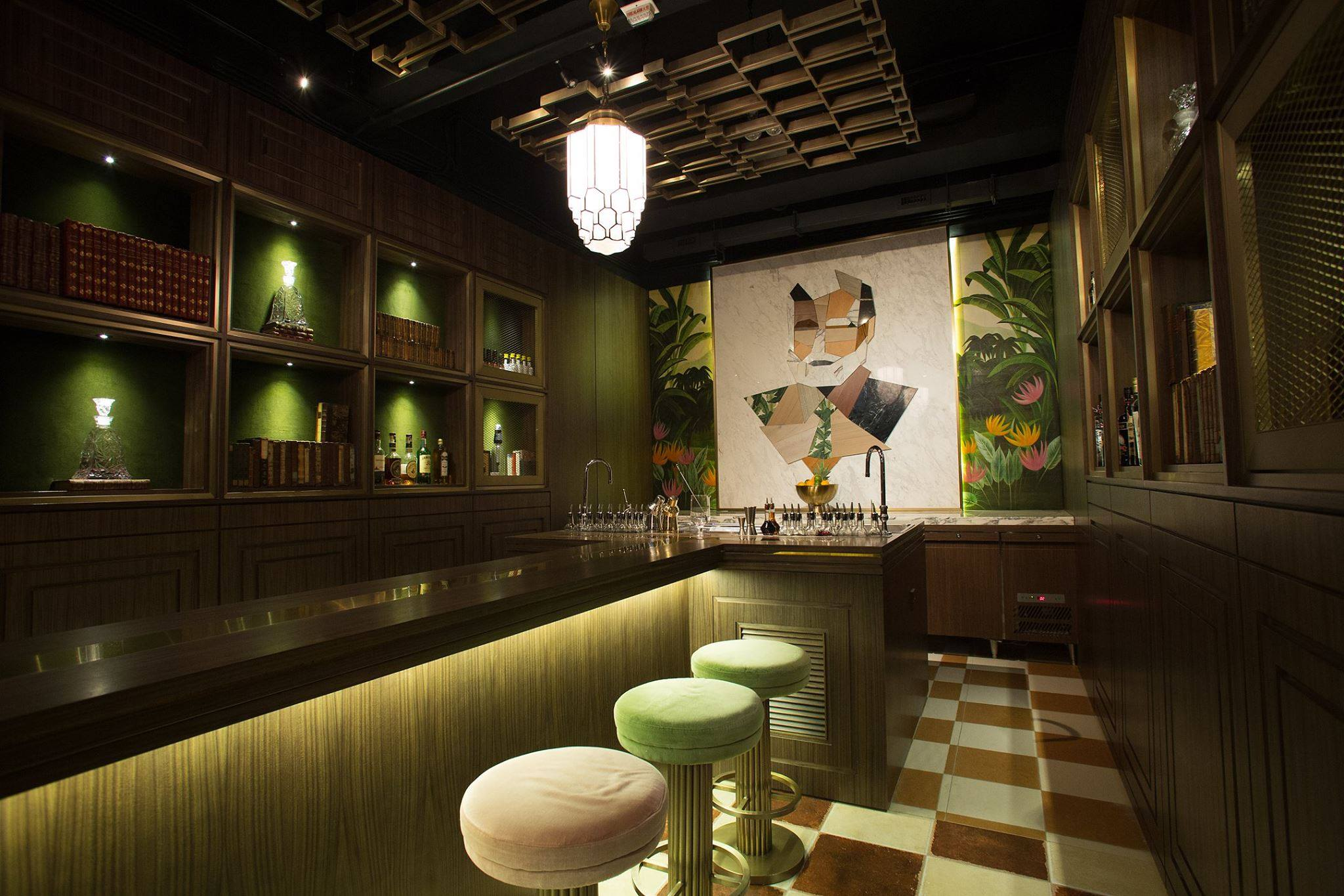 The Old Man in Hong Kong took the top spot for Asia's 50 Best Bars. Photo courtesy: The Old Man
