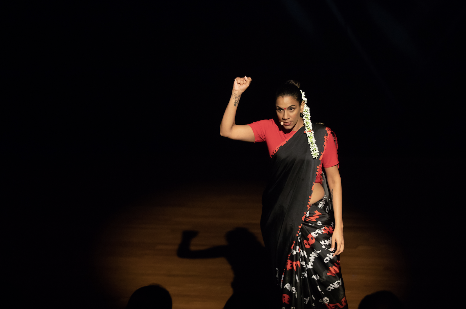 Sharul Channa's Disco Sheela and Other Indian Superwomen was one of the highlights of Kalaa Utsavam 2018. Photo courtesy: Esplanade Theatres on The Bay