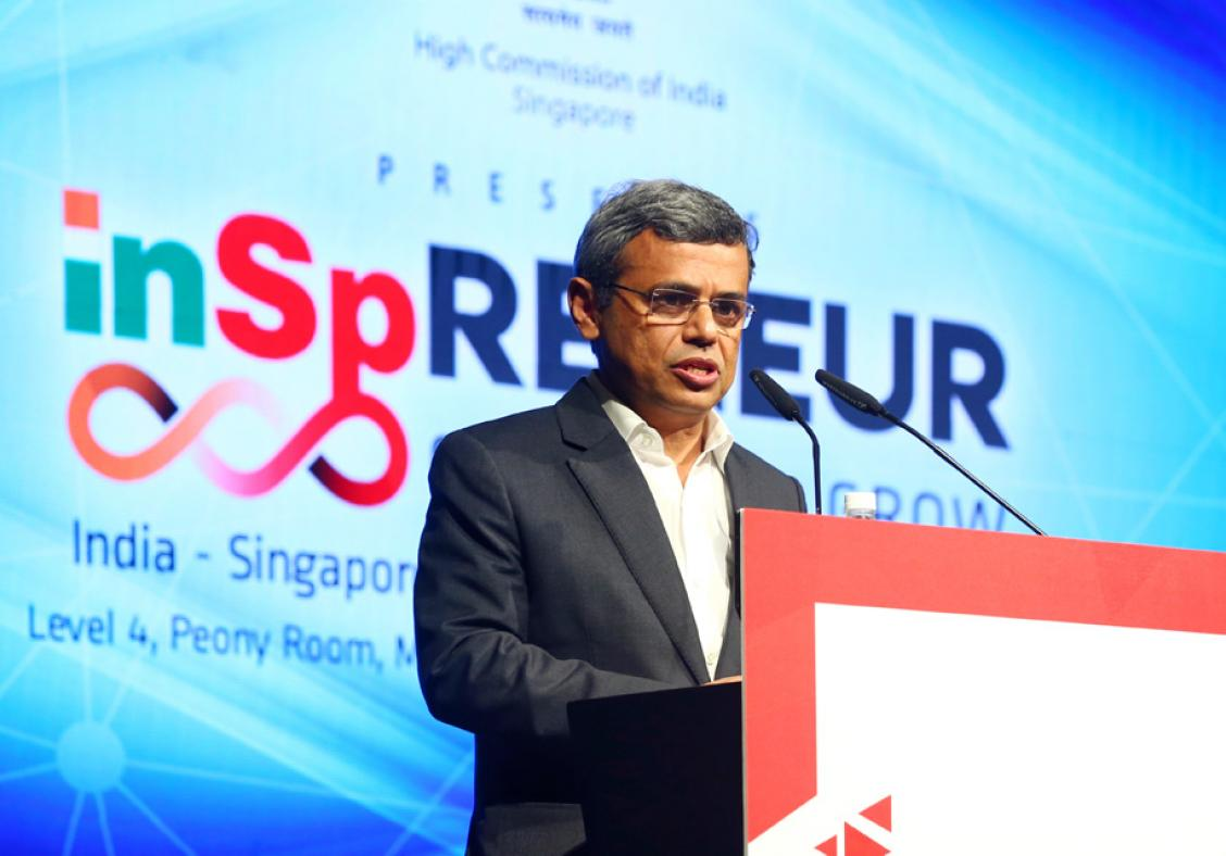 HE Jawed Ashraf, High Commissioner of India, Singapore, has always highlighted the potential and desire for partnership between India and Singapore. As at the Inspreneur Summit last year, he will be speaking on investment opportunities in India at the WOF. Photo: Connected to India