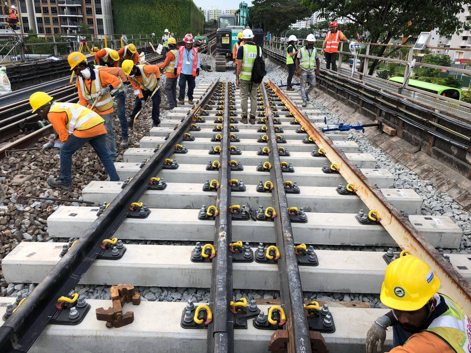 Photo courtesy: Coordinating Minister for Infrastructure and Minister for Transport Mr Khaw Boon Wan