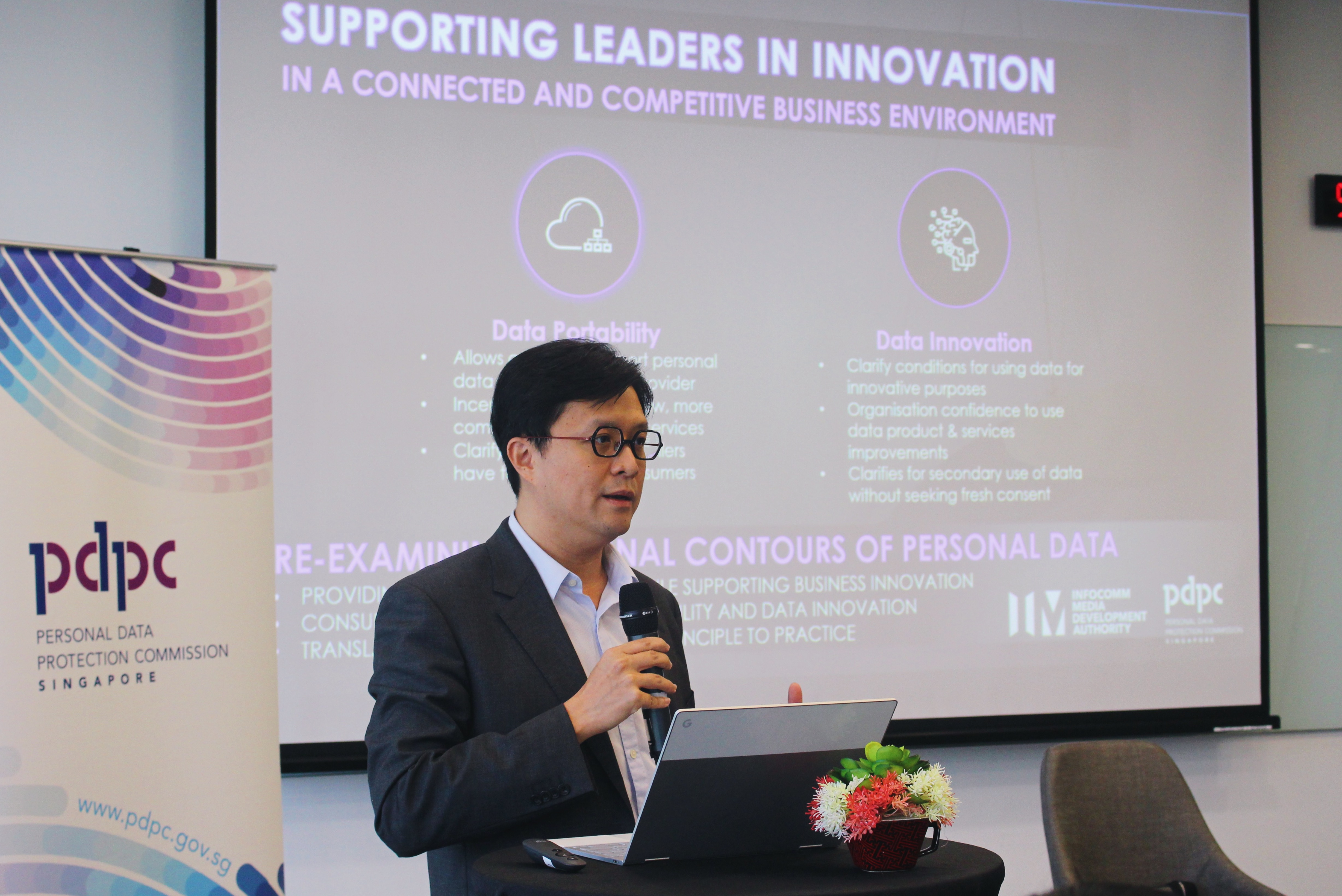 Deputy Commissioner of Personal Data Protection Commission (PDPC), Mr Yeong Zee Kin. Photo courtesy: PDPC
