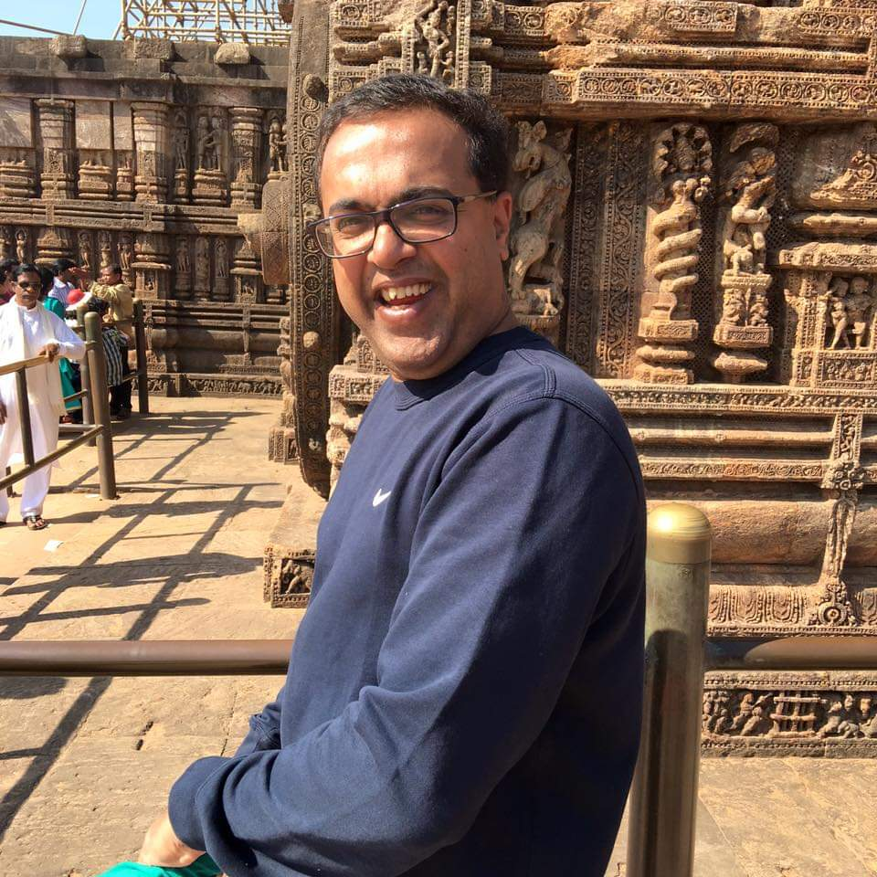 Shankar Ramakrishnan Global Editor. Photo: Connected to India