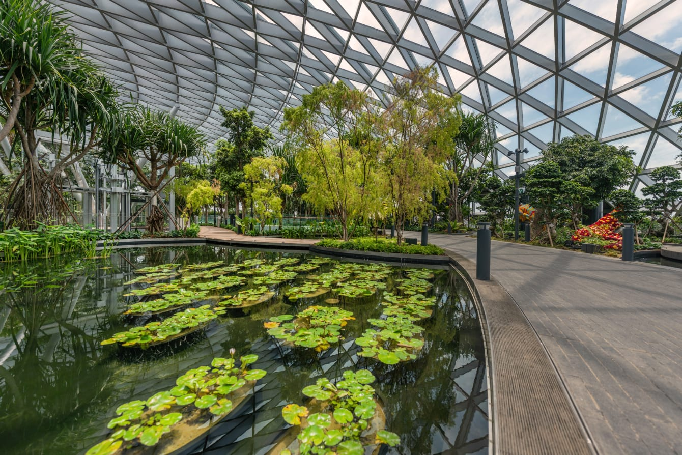 Canopy Park at Jewel Changi Airport. Photo courtesy: Changi Airport Group