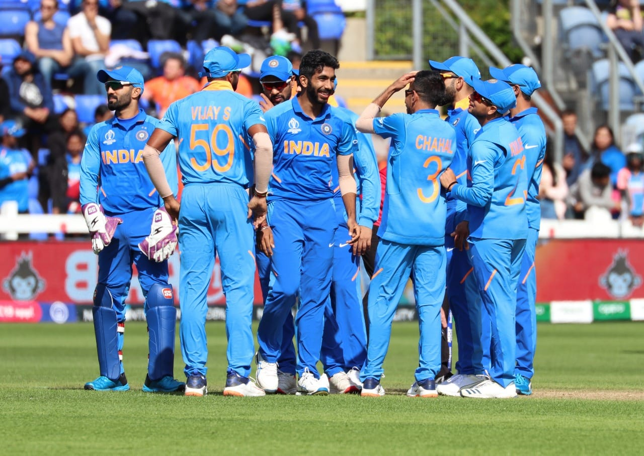 India will be looking to go on the front foot to get off to a positive start to their world cup campaign against the struggling South Africa. Photo courtesy: Facebook/Indian Cricket Team