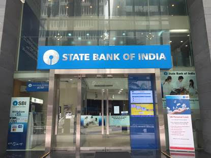 State Bank of India Singapore. Photo courtesy: SBI Singapore