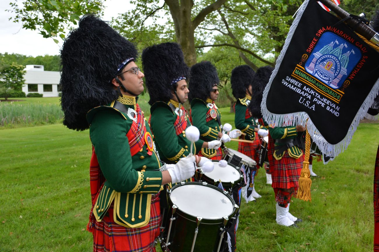 The band plays pleasing Scottish tunes, patriotic strains and cultural melodies. Photo courtesy: MSSGS