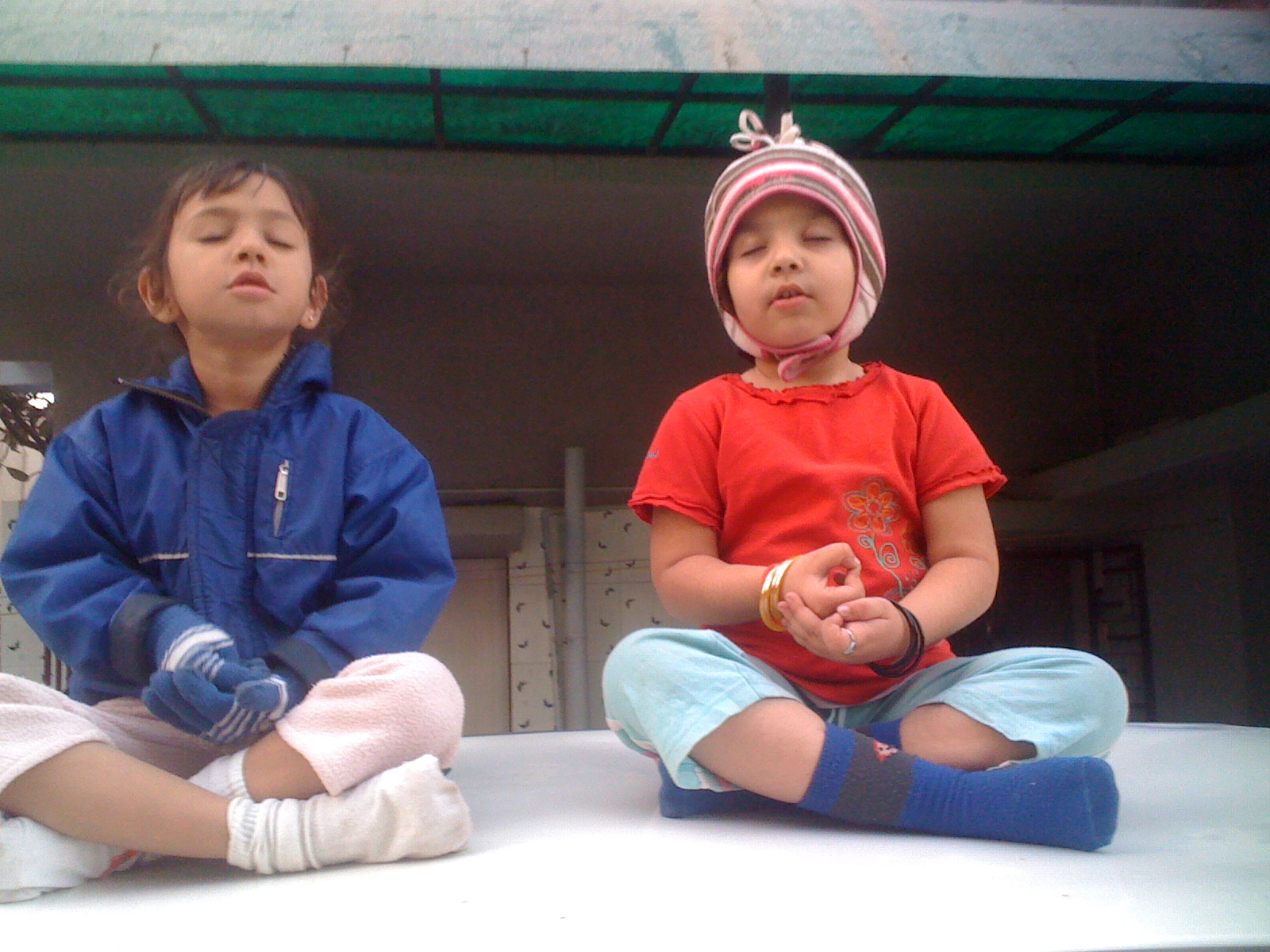 Psychologists recommend harnessing mindfulness and meditation from an early age. Photo courtesy: Kunal Trivedi
