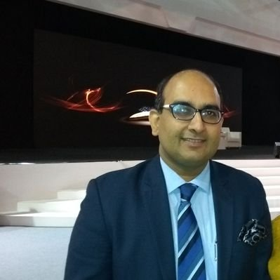 Indian Consul General, Vipul launched the mobile app christened 'QTicket'. Photo courtesy: Twitter/@vipulifs