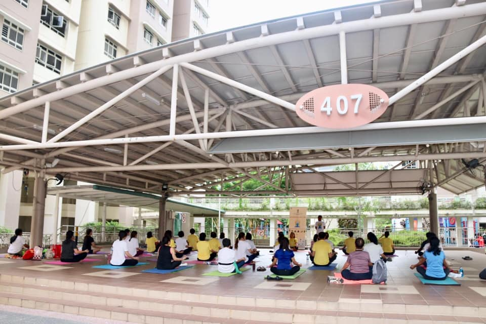 Yoga Day events are being held at 130 venues across Singapore from June 15-25. Photo courtesy: Facebook/India in Singapore