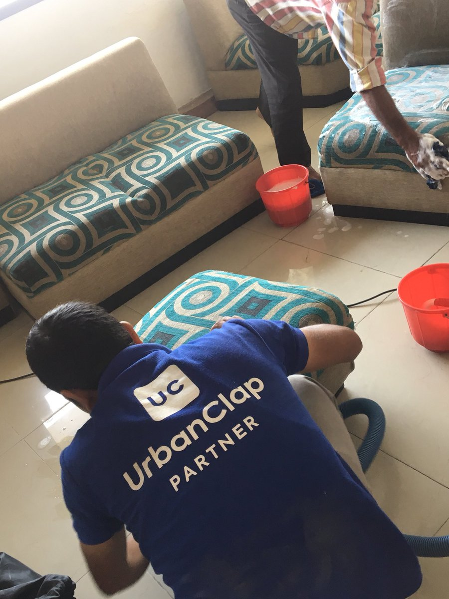 Popular on-demand home service UrbanClap launched its service in Abu Dhabi. Photo courtesy: Twitter/@urbanclap