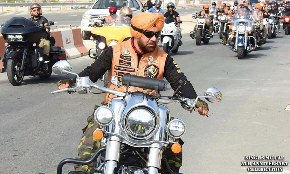 Gurnam Singh is the founder of Singh's MC UAE. Photo courtesy: Facebook