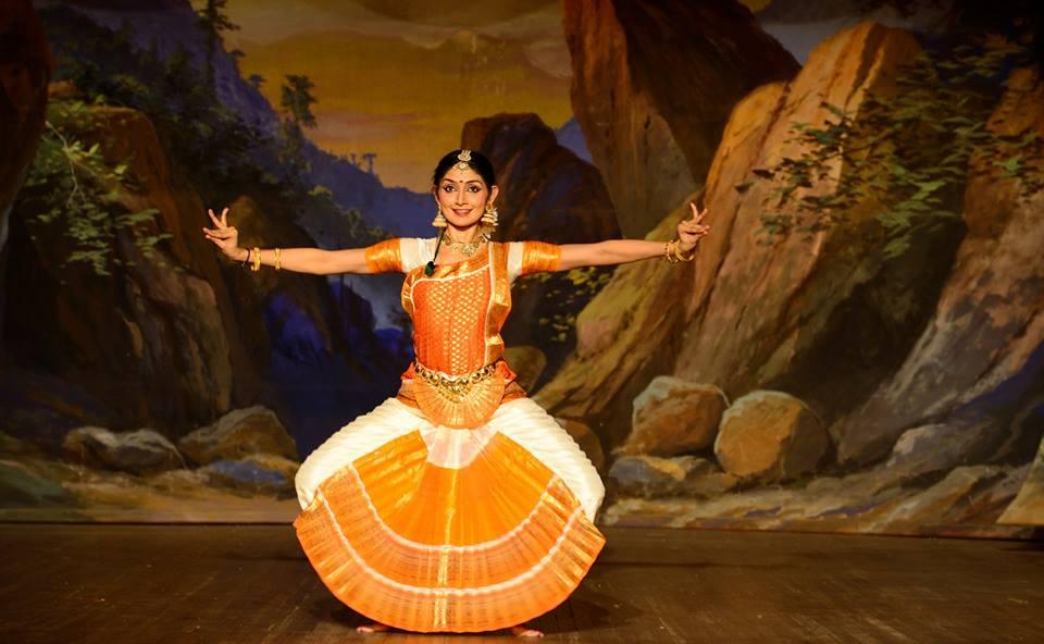 Bharatanatyam dancer, Divyaa Unni. Photo courtesy: Facebook/Divyaa Unni