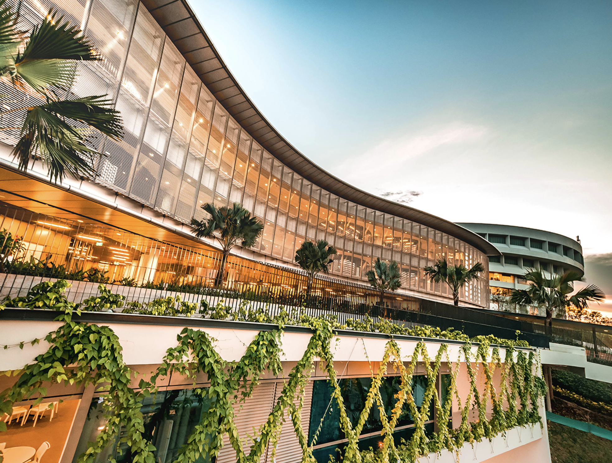 NTU Singapore has topped the QS rankings of the world's young universities for the sixth consecutive year. Pictured here is its latest learning hub, The Arc. Photo courtesy: NTU
