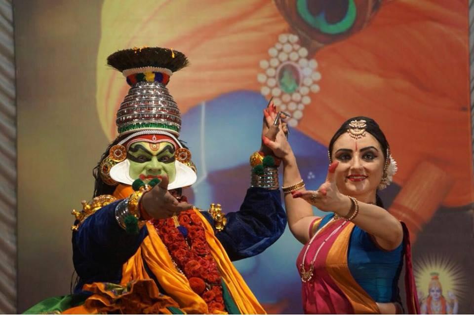 Paris Laxmi and Pallippuram Sunil. Photo courtesy: Facebook/Pallippuram Sunil