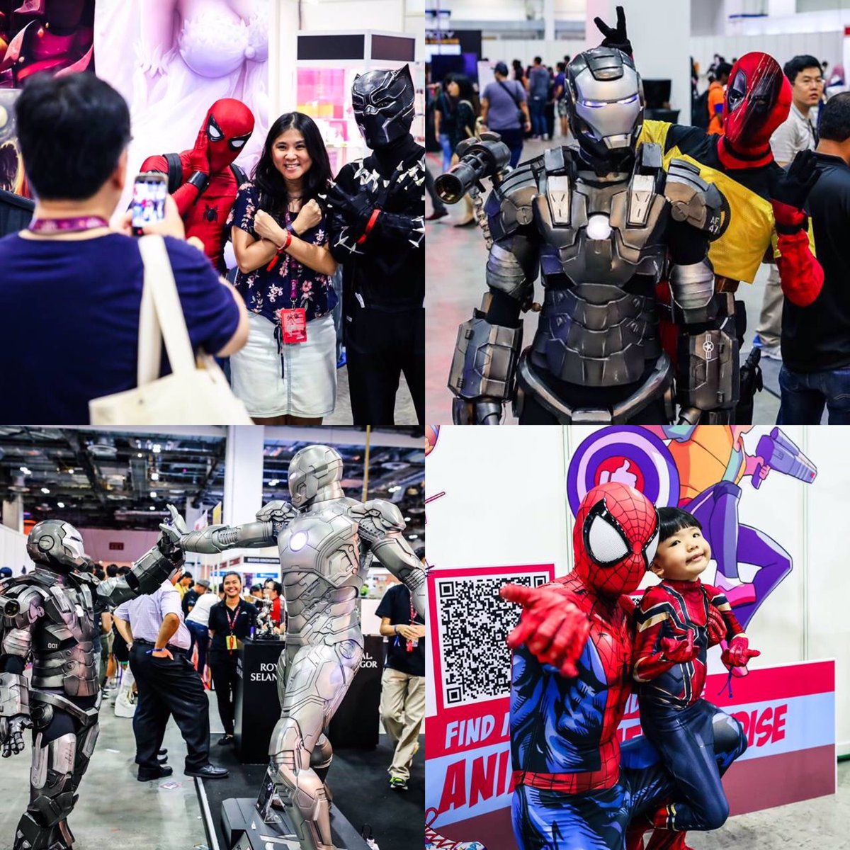 Singapore Comic Con 2018. Photo courtesy: Twitter/@SGComicCon