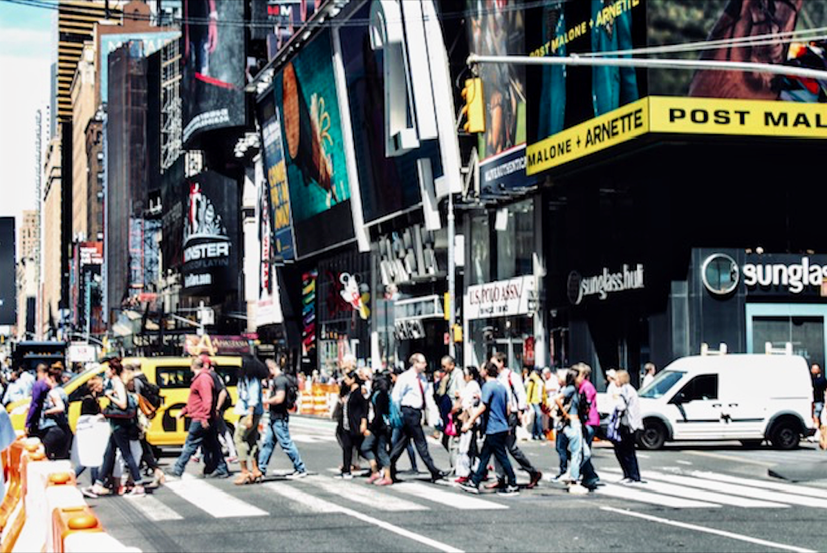 The crossroads of the world is always busy - Times Square, New York. Photo courtesy: Kaustubh Shankar